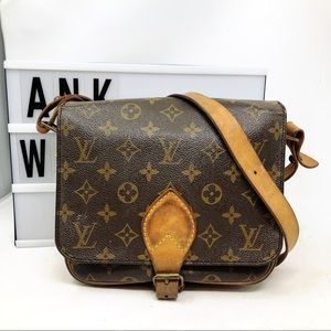 Louis Vuitton Cartouchiere MM monogram crossbody